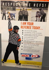 Respect The Refs Poster