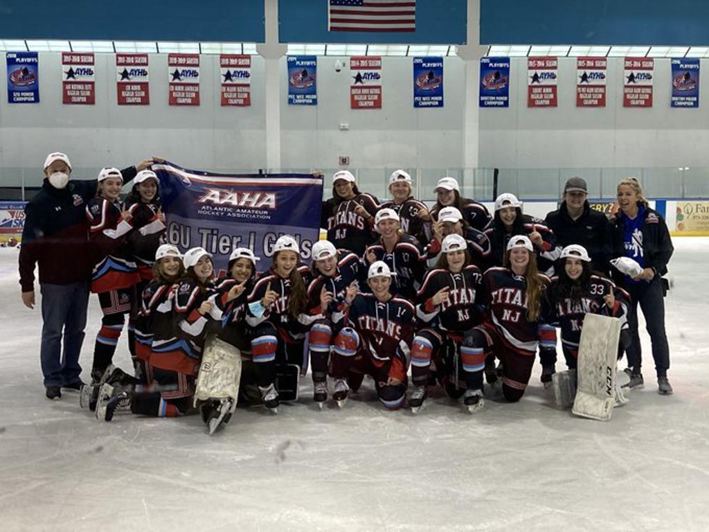 Titans Girls T1 U16 wins Atlantic District Championship