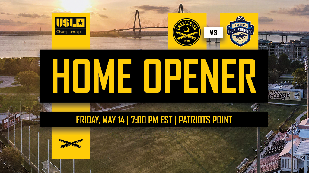 Battery announce 2021 home opener at Patriots Point