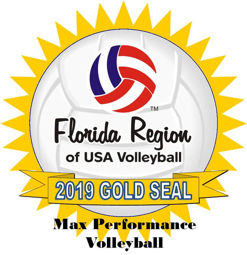 USA Volleyball Gold Seal