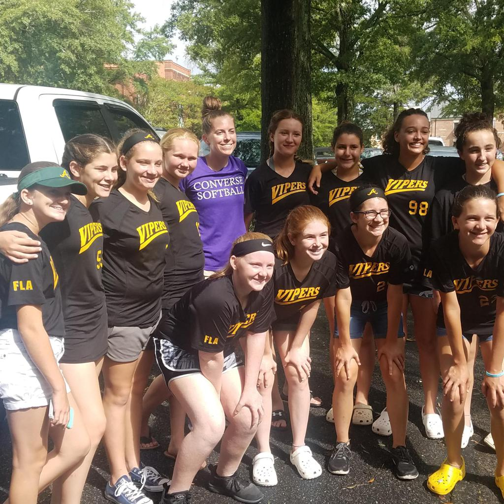 Converse College with Coach G