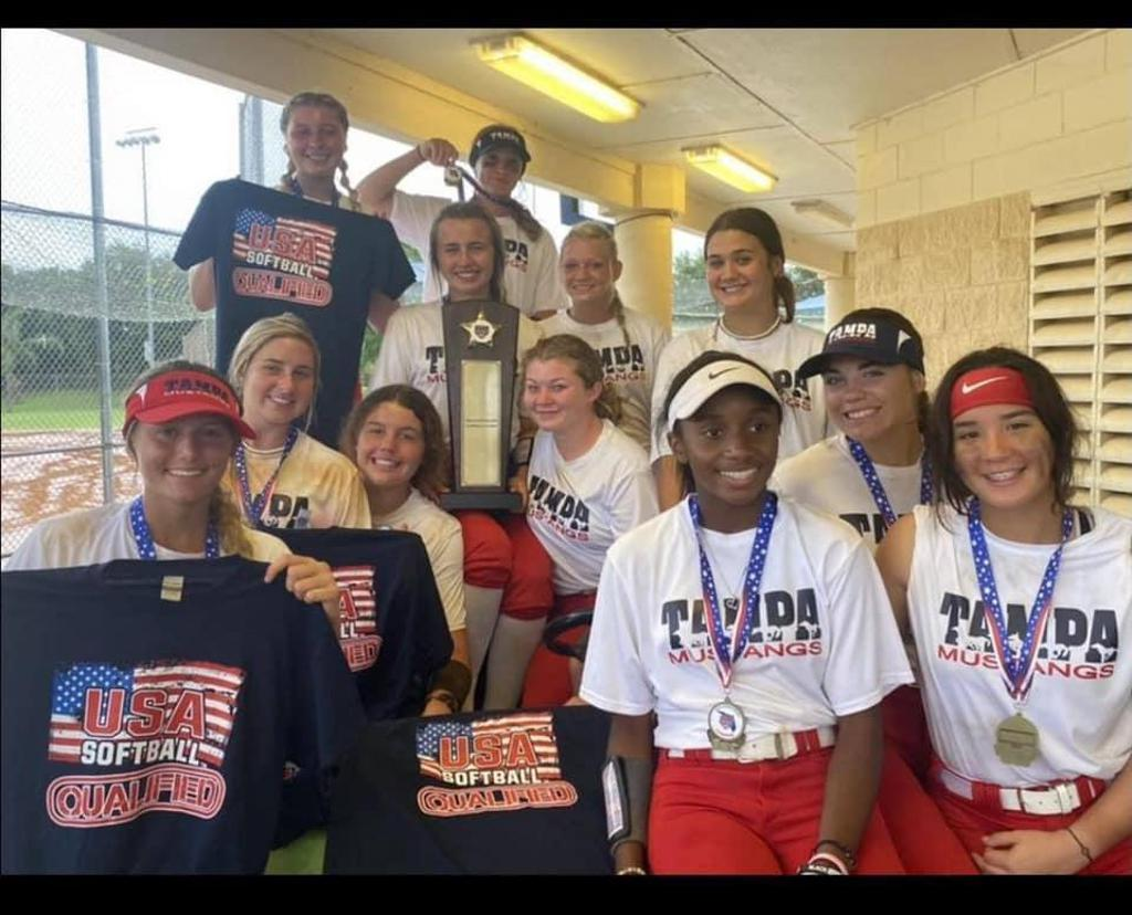 Tampa Mustangs Self 14A State Champions