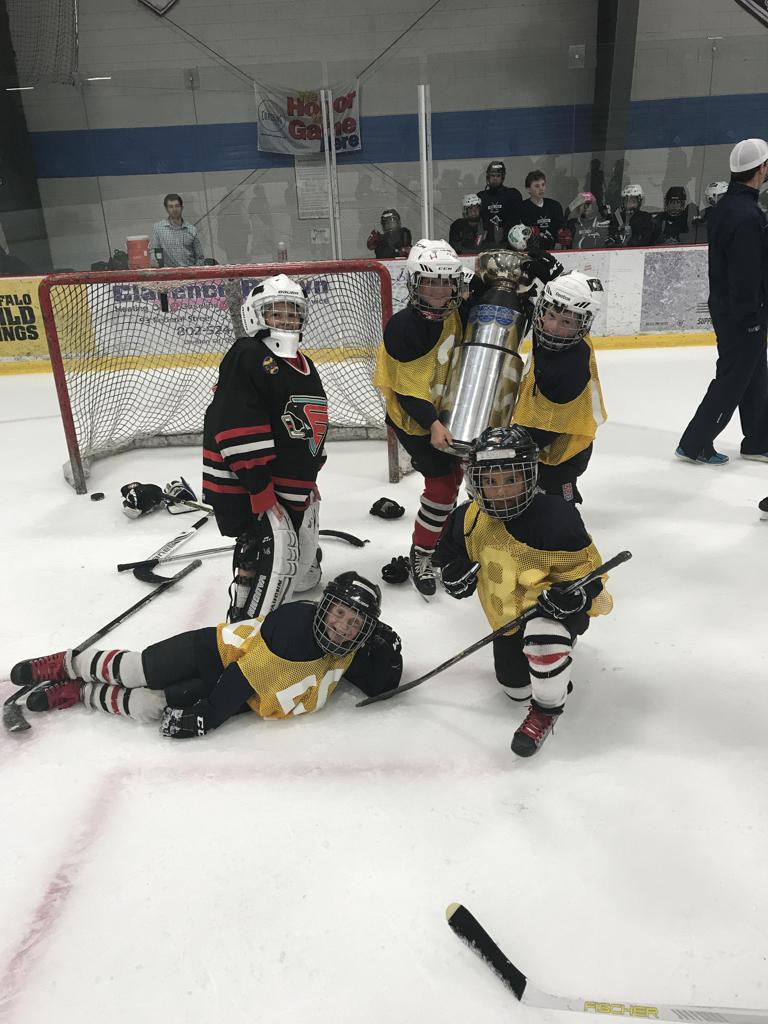 Champions of Our Friday On-Ice Game Day
