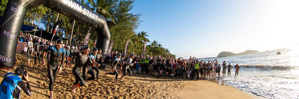 Palm Cove is the venue for the swim start at IRONMAN Cairns