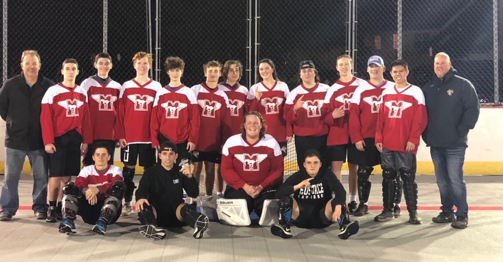 Freshman Champions Mustangs- Coach Stone