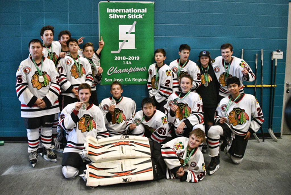 Blackhawks 14A wins Silver Stick Pacific Tournament