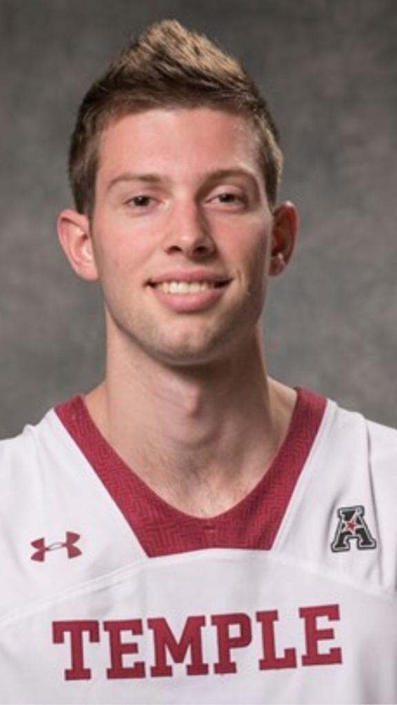 Elite Alumni Nick Pendergast (Bridgewater, CT) played at Temple University
