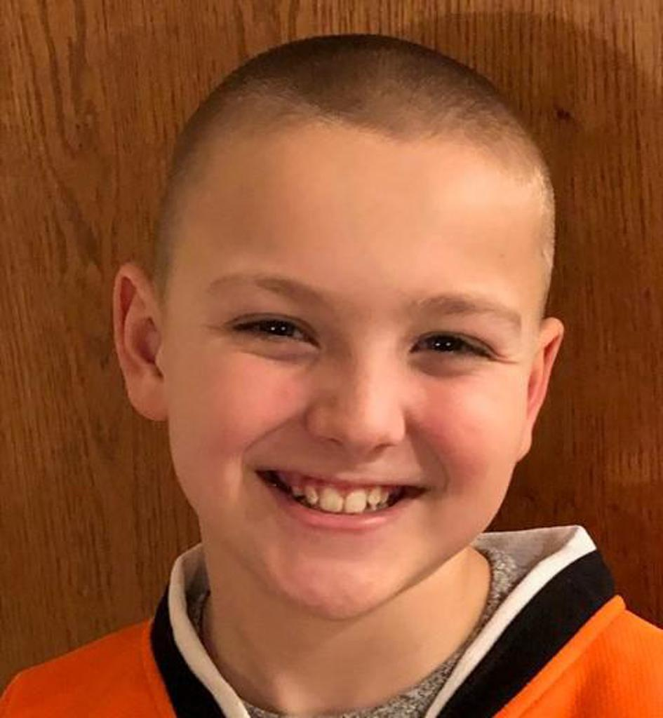 Jr. Flyers announce Squirt Spotlight for week ending January 6 featuring Stephen Cover