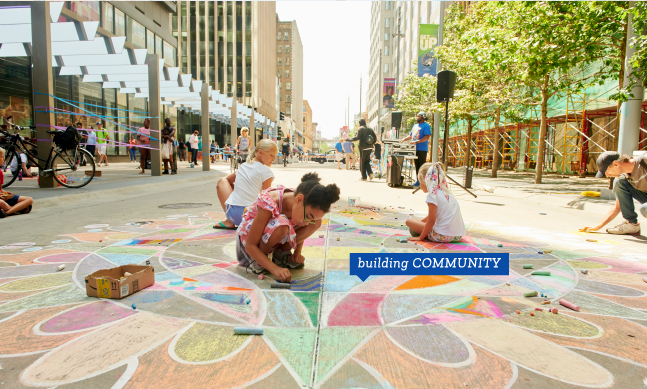 Minneapolis Downtown Improvement District Building community