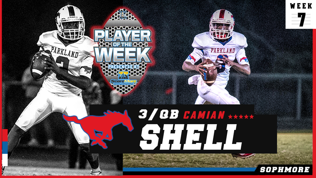 Camian Shell Player of the Week (Week 7)