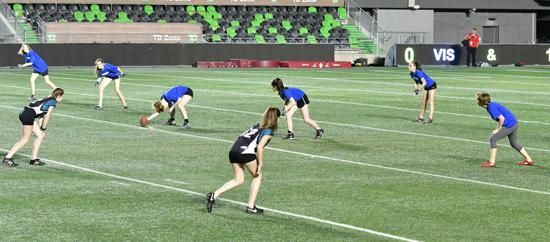 NCAFA Girls Touch Football