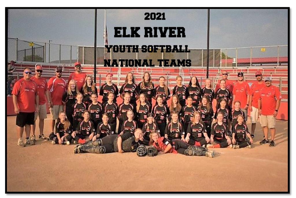 2021 Elk River Youth National Teams 14U 12U Red 12U Black