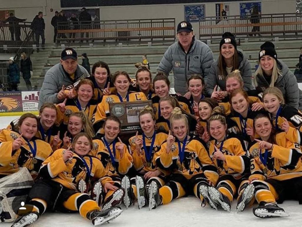 Warroad High School Girls claim 2019 Section 8 Championship Title