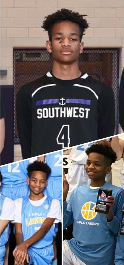 Dominick Kellum Southwest Lakers Class of 2023  Mpls Lakers 2018-2019