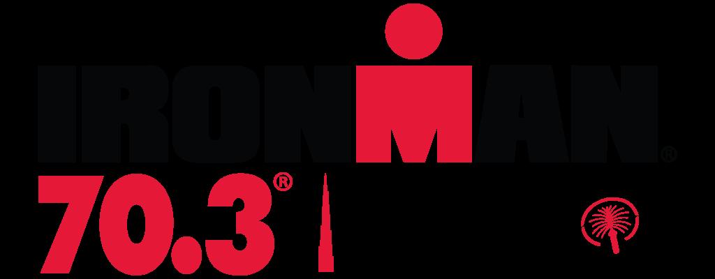 official IRONMAN 70.3 Dubai race logo