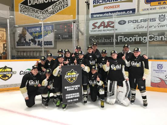 BRANDON PENGUINS - 2019 PEEWEE RURAL A2 CHAMPIONS