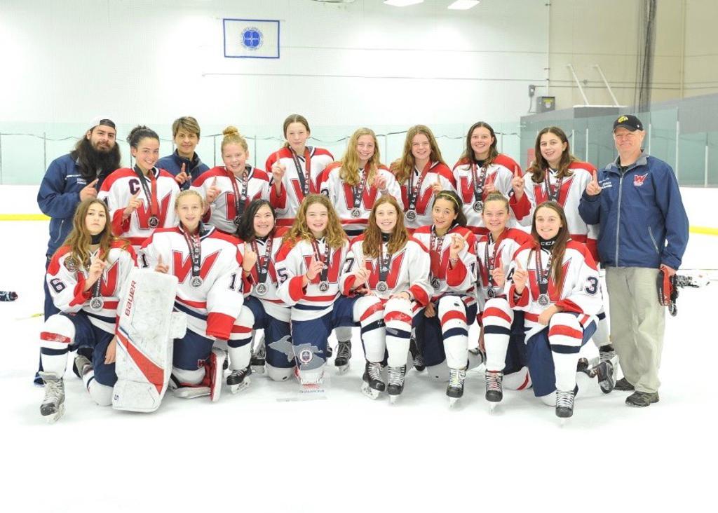 U14 Champions at the West Michigan Girls Classic Tournament