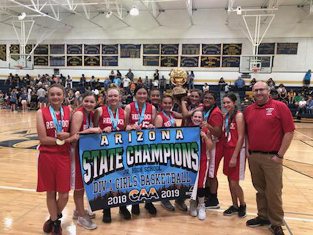 Red Rock Elementary D.1 State Champions