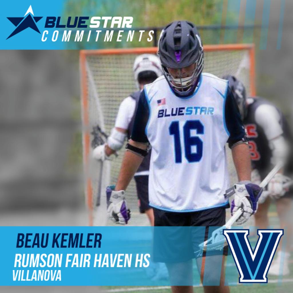 Beau Kemler Blue Star Lacrosse Rumson Fair