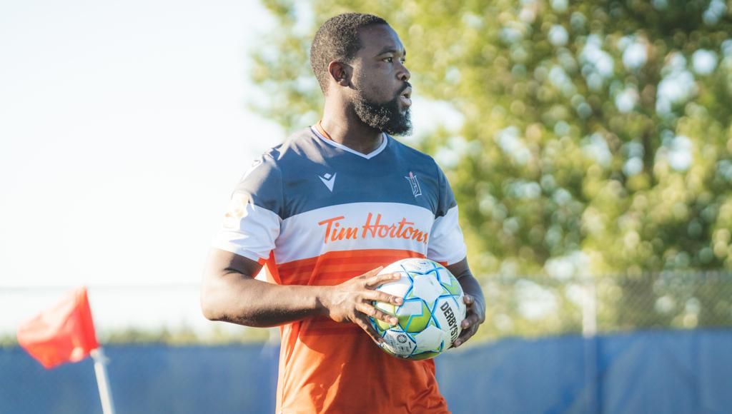 Forge FC's Dominic Samuel. (CPL/Chant Photography)