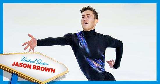 Skate America men's competitor - Jason Brown - Team USA