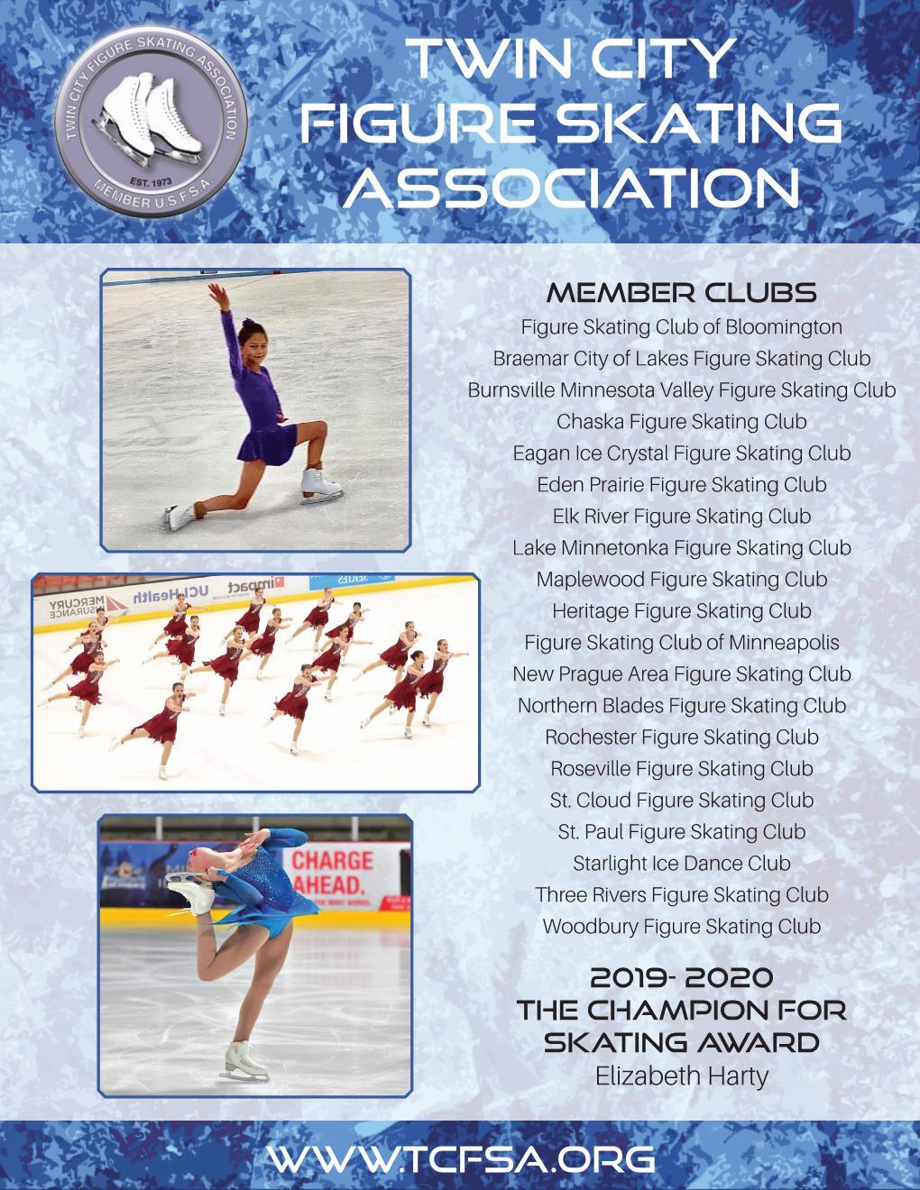 2019- 2020 The Champion for Skating Award