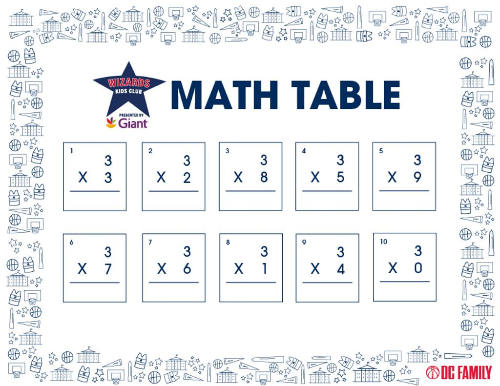 """""""3"""" Table"""