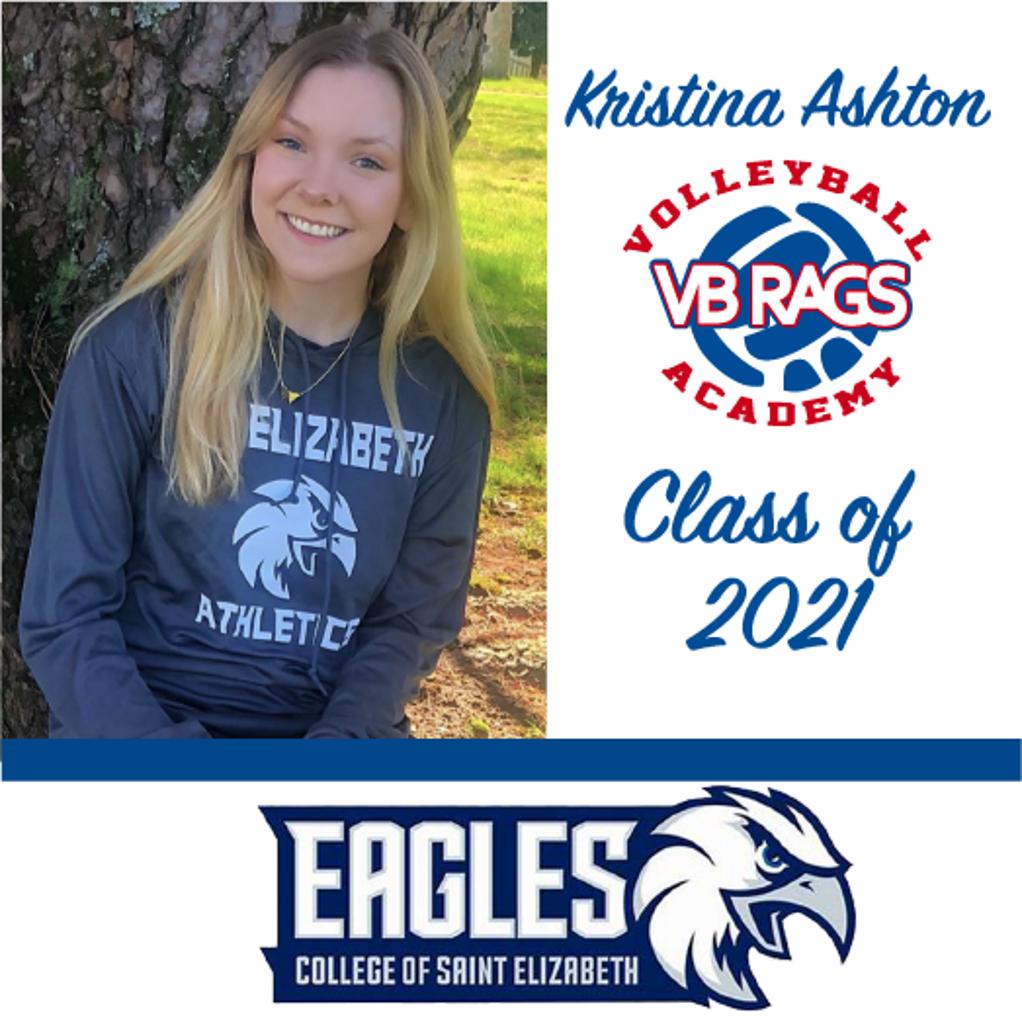 Kristina Ashton - Team VB RAGS Class of 2021