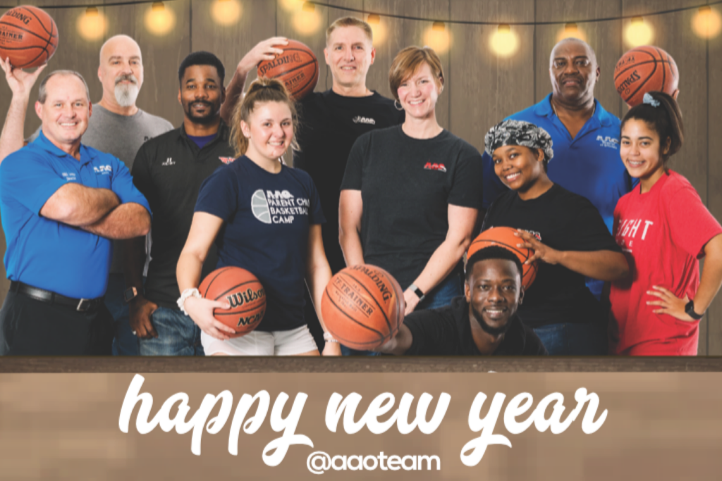 Happy New Year from our AAO Team!