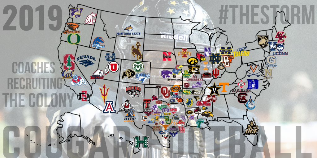 2019 Colleges Recruiting The Colony