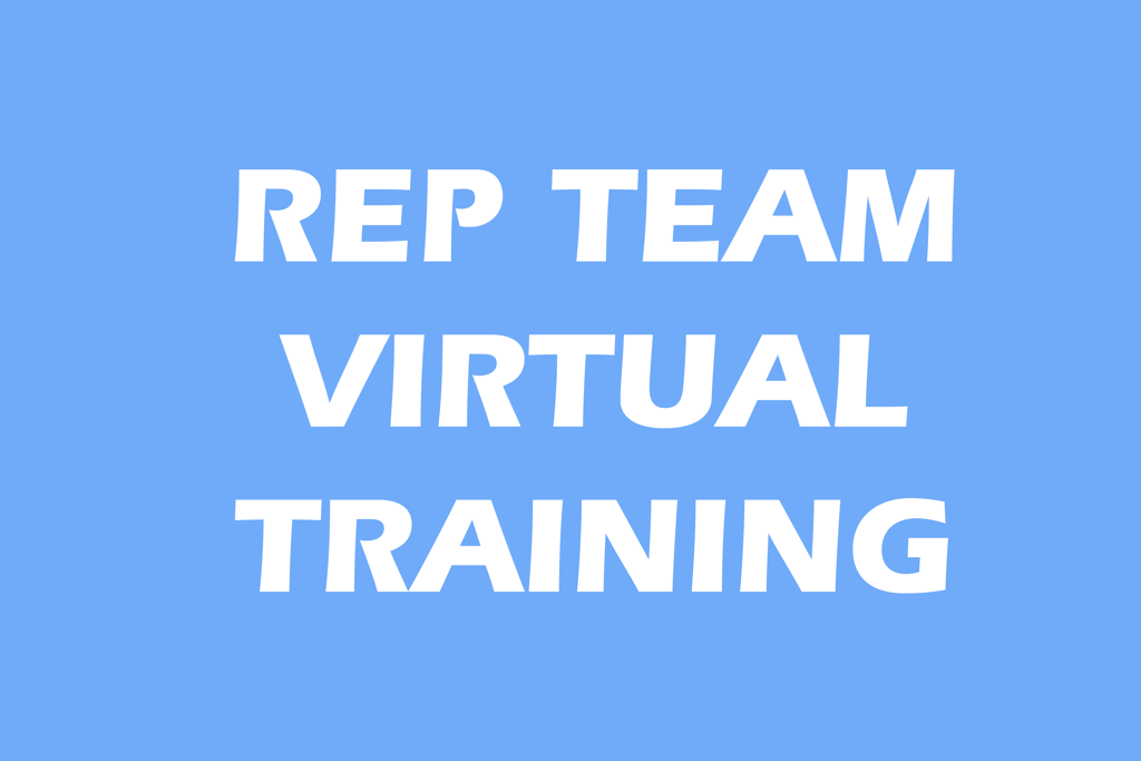Virtual Rep Team Training
