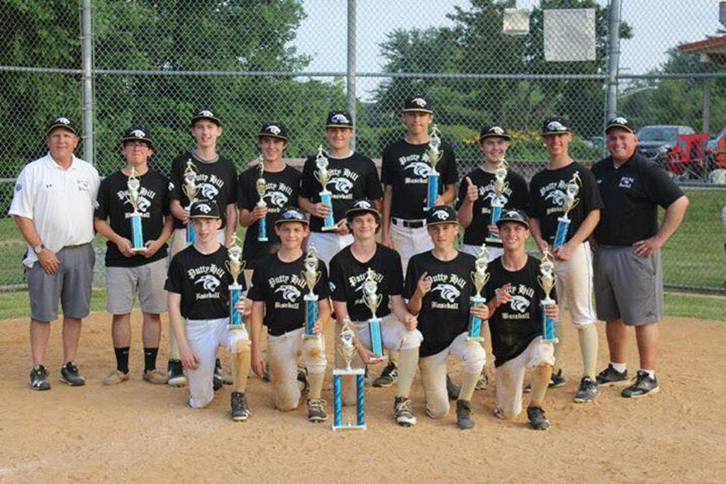 Putty Hill 14U Wins the Essex Father's Day Tournament.