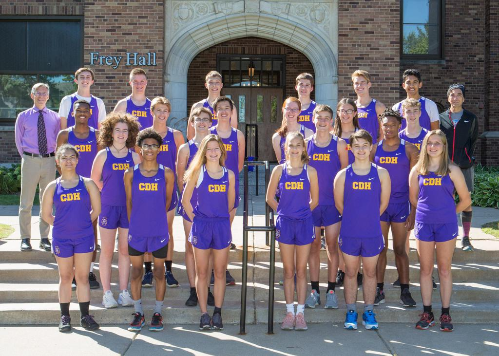 2019 CDH Cross Country Team