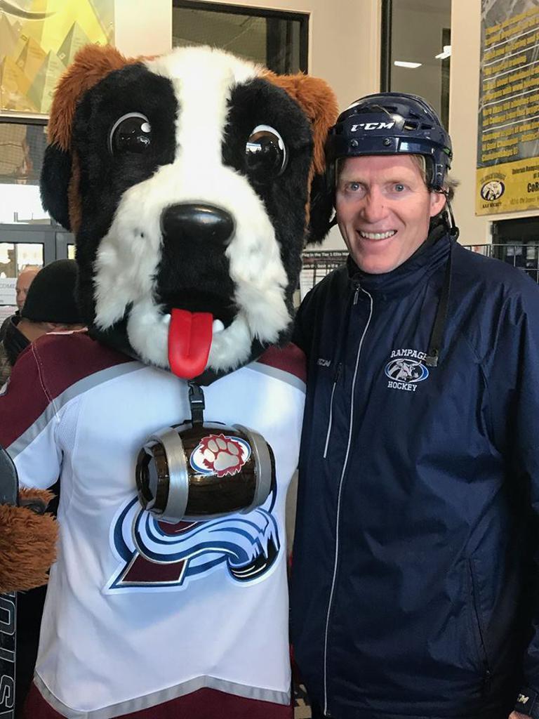 Al Pedersen Colorado Rampage USA Hockey Award