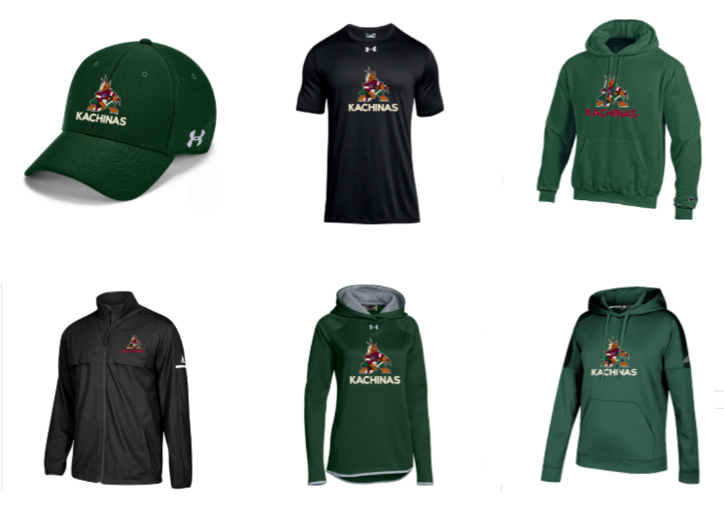 Get Your Kachinas Gear Here!