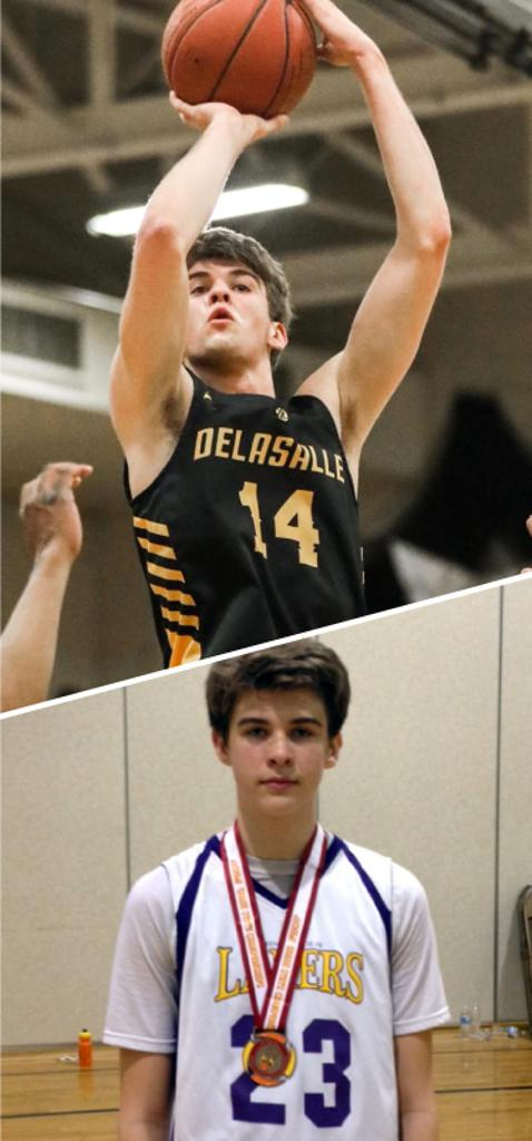 Cade Haskins DeLaSalle High School Class of 2021  Mpls Lakers 2014-2016