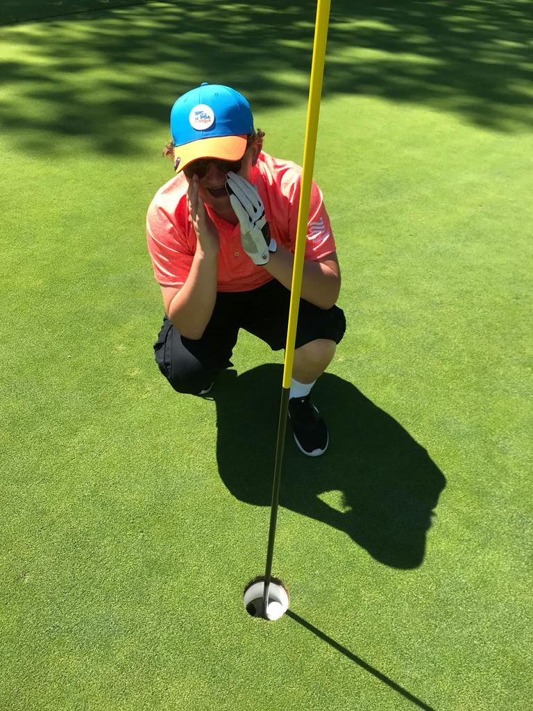 13-year-old Christopher had his first hole-in-one during a PGA Jr. League match at Pocono Farms Country Club in Tobyhanna, Pennsylvania! Christopher aced the first hole from 191 yards with a driver.