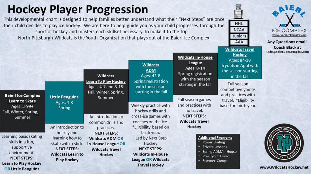 Youth Hockey Progression Chart