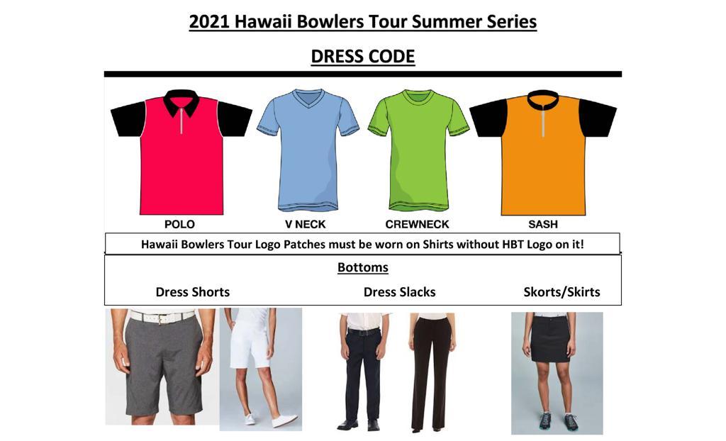 2021 HBT Summer Series Dress Code