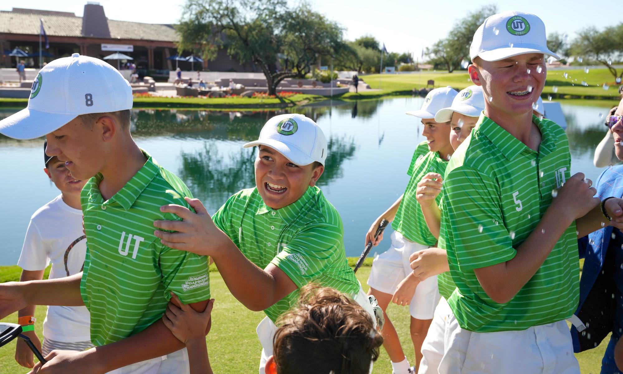 Get Involved with PGA Jr. League!