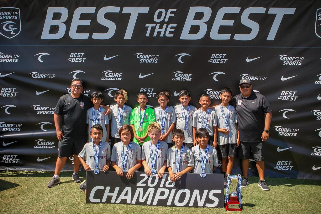 San Diego Surf Cup Champions 2018