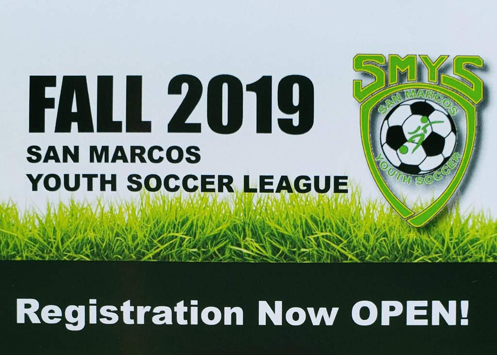 Fall Registration Now OPEN!!!