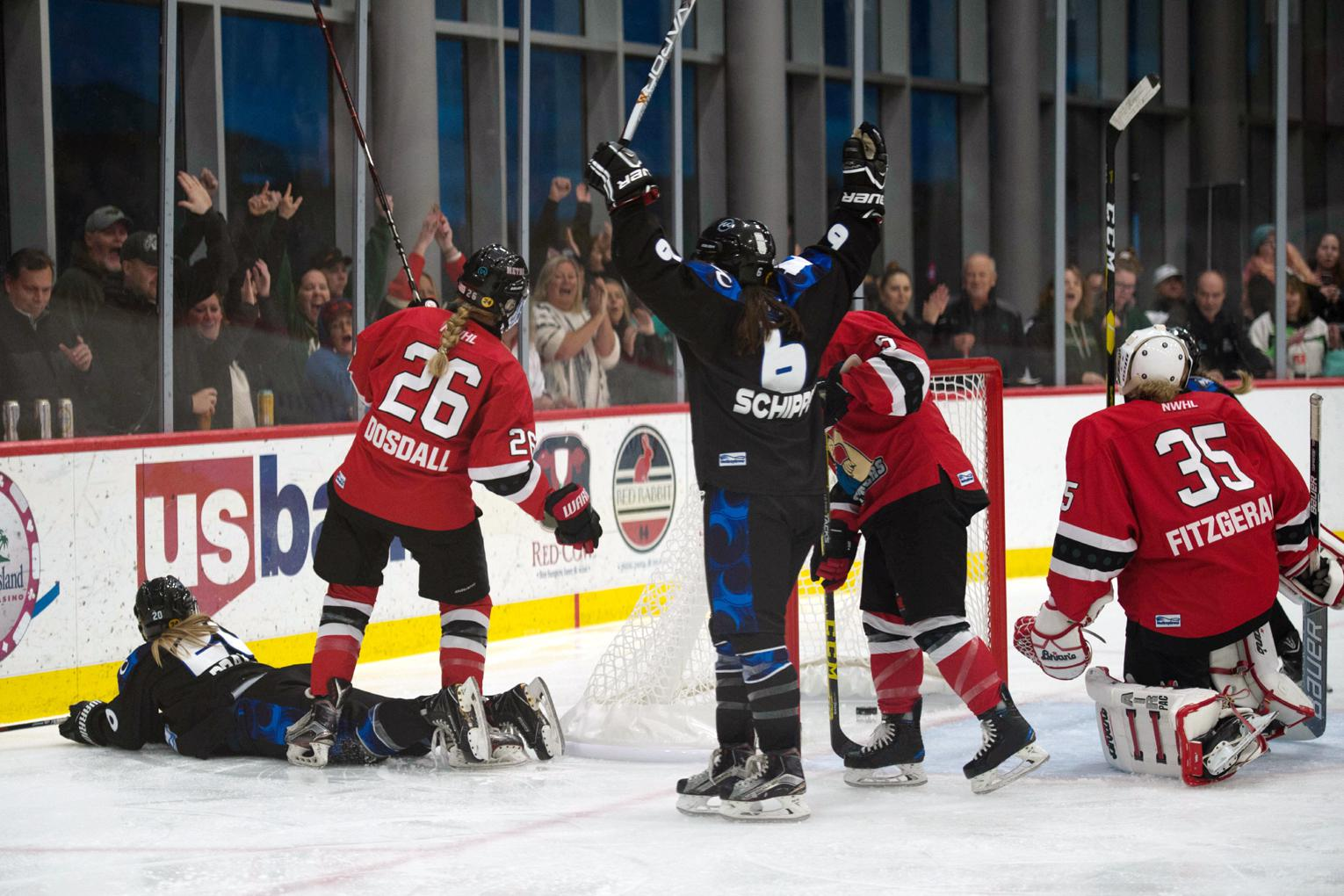 NWHL: Whitecaps Open Inaugural Season With Sweep Of Riveters