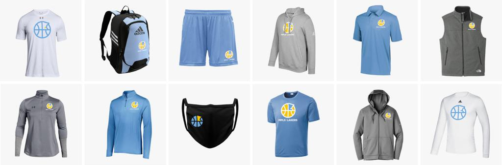 Official Mpls Lakers Youth Traveling Basketball Program Inc 2020-21 Gear from Squadlocker in Minneapolis, MN featuring items like Hoodies, Warm up jackets, hats, compression shirts, shorts, face masks, backpacks and more.