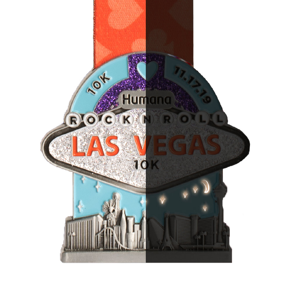 Rock 'n' Roll Las Vegas Finisher Medals