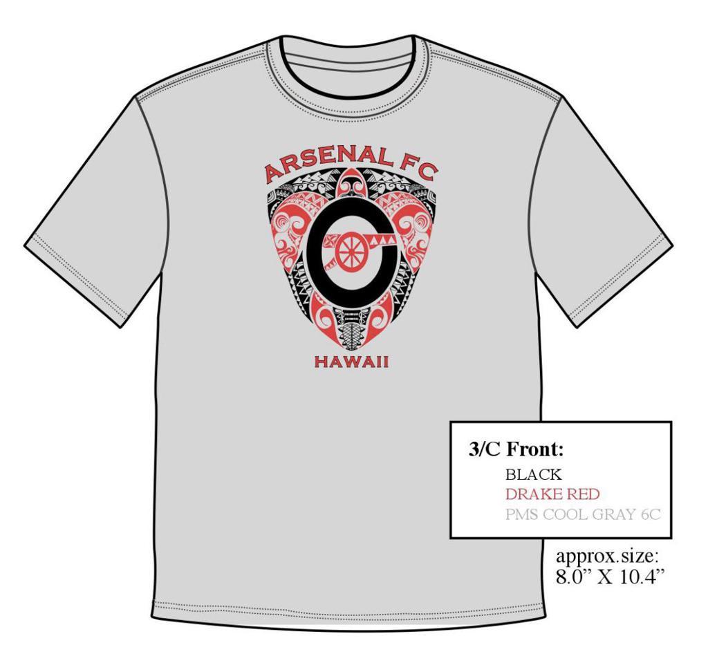 Arsenal Booster Shirt sample image