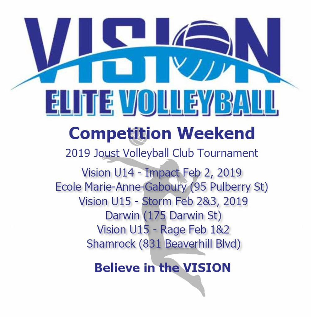 Vision Tournament Weekend