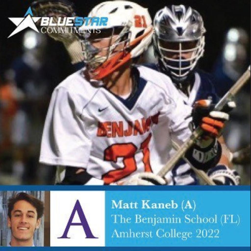 Matt Kaneb Amherst Blue Star Lacrosse