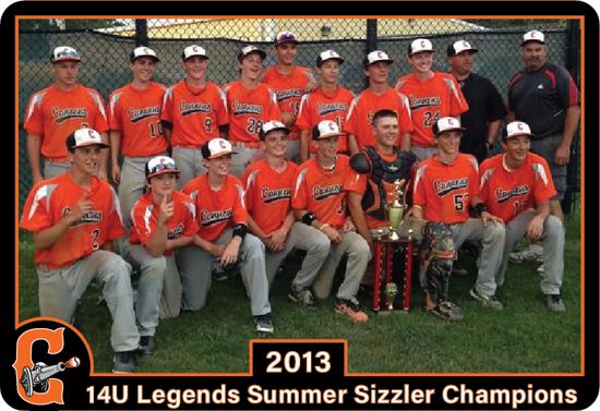 13U Elite Baseball League Division 1 Champions