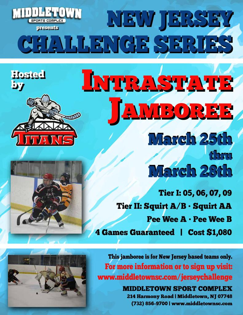 New Jersey Challenge March 25 - 28, 2021